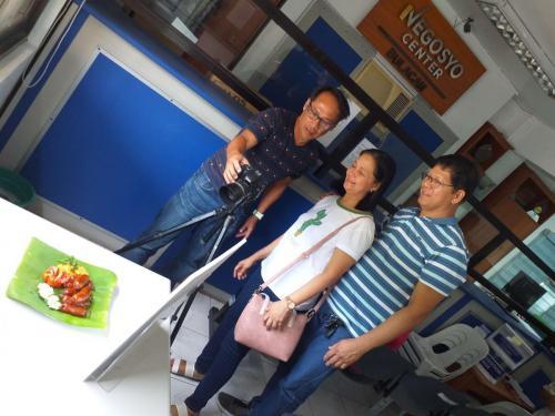 Junlily with Designer Raynor Zuleta